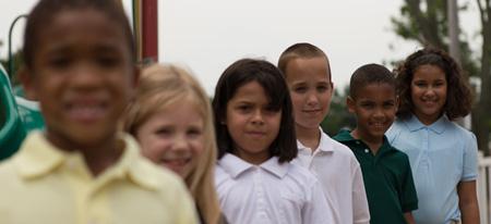 A+ Children's Academy Community School Students
